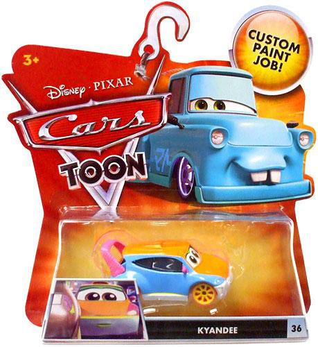 Mattel Disney Cars Cars Toon Main Series Kyandee Diecast Car #36