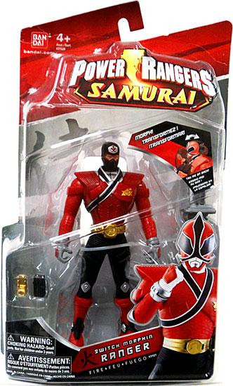 Power Rangers Samurai Switch Morphin Ranger Fire Action F...