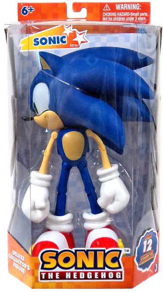 Jazwares Sonic The Hedgehog Super Posers Sonic Action Fig...