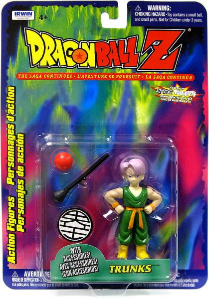 Irwin Dragon Ball Z Series 10 Young Trunks Action Figure ...