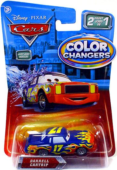 disney cars color changers darrell cartrip 155 diecast car