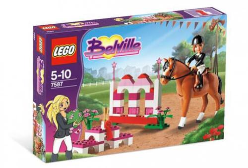 Lego Belville Horse Jumping Set #7587