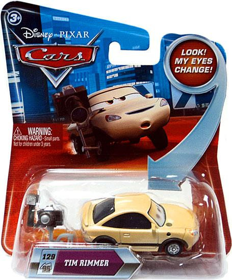 Mattel Disney Cars Lenticular Eyes Series 2 Tim Rimmer Di...