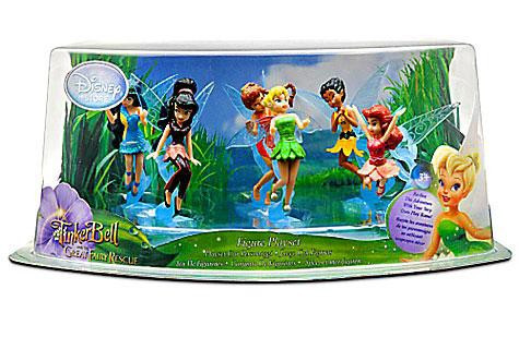 Disney Fairies Tinker Bell & The Great Fairy Rescue Figur...