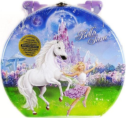 Hidden City Games Bella Sara 2010 Holiday Keepsake Tin Set