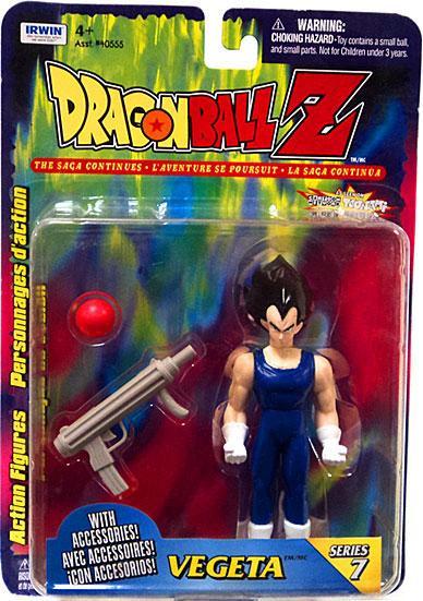 Dragon Ball Z Toys : Dragon ball z series vegeta action figure irwin toys