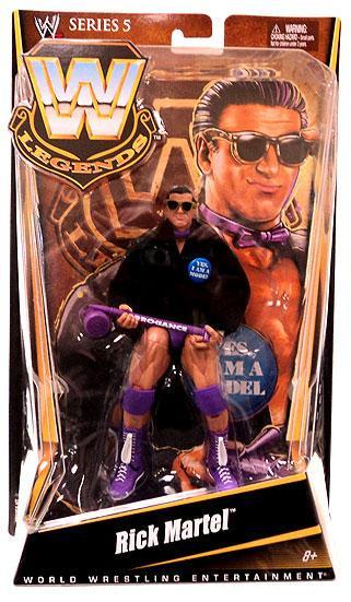 wwe wrestling legends series 5 rick martel action figure