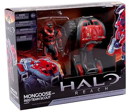 Mcfarlane Toys Halo Reach Mongoose with Red Team Scout Sp...