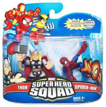 Hasbro Marvel Super Hero Squad Series 21 Spider-Man & Tho...
