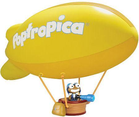 Jazwares Poptropica Inflatable Blimp 30-Inch Playset