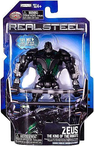 JAKKS Real Steel Series 1 Zeus Action Figure [The King of...