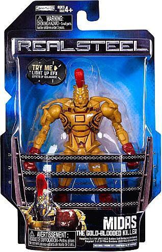 JAKKS Real Steel Midas Action Figure [The Gold Blooded Ki...