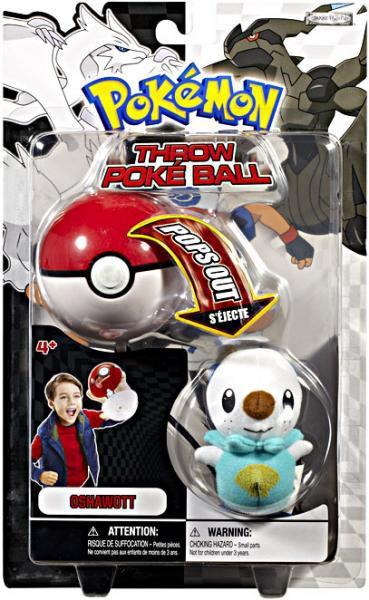 Pokemon Black & White B&W Series 1 Oshawott Throw Poke Ba...