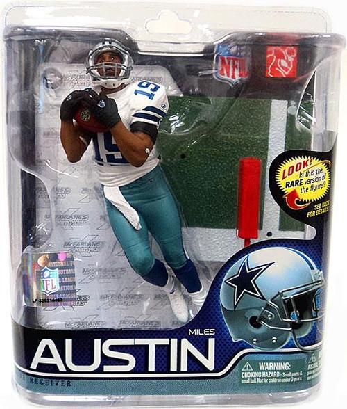 McFarlane Toys NFL Dallas Cowboys Sports Picks Series 27 Miles Austin Action Figure 19 Jersey 19