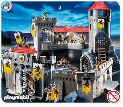 playmobil lion knights castle set 4865 toywiz. Black Bedroom Furniture Sets. Home Design Ideas