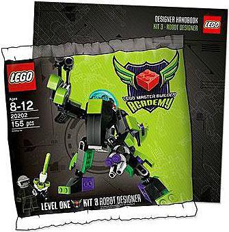 Lego Master Builder Academy MBA Robot Designer Mini Set #...
