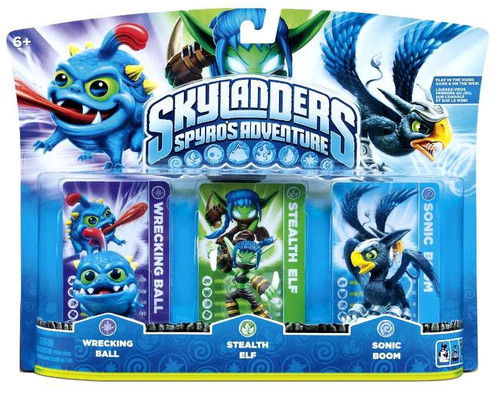 Skylanders Spyros Adventure Wrecking Ball, Stealth Elf ...
