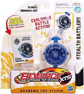 Hasbro Beyblade XTS Stealth Battlers Tempo Hammer Hit Sin...