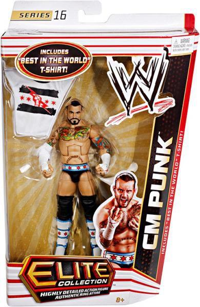 Wwe Wrestling Elite Series 16 Cm Punk Action Figure Best