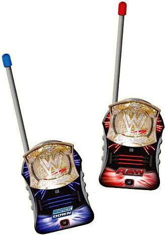 Jazwares WWE Wrestling Ultimate Walkie Talkies