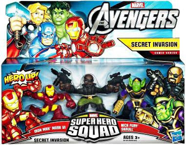 Hasbro Marvel Avengers Super Hero Squad Secret Invasion F...