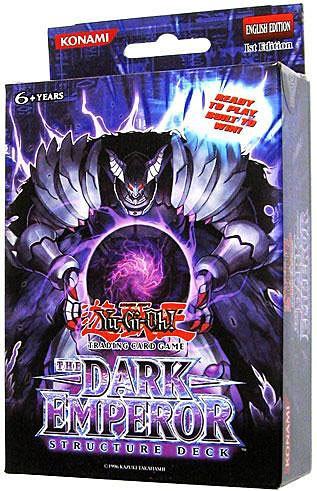 Konami YuGiOh The Dark Emperor Structure Deck [1st Edition]