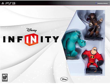 Disney Infinity PS3 Starter Pack