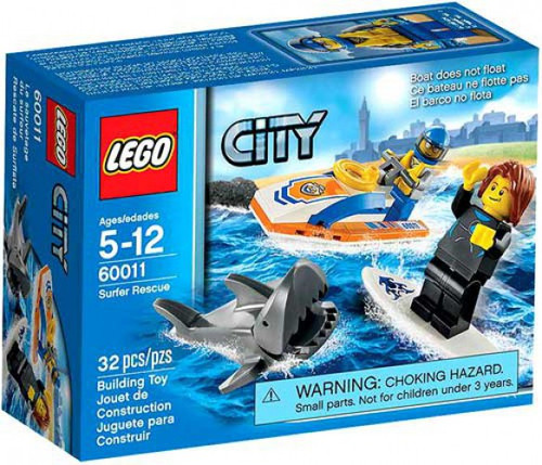 Lego City Surfer Rescue Set #60011