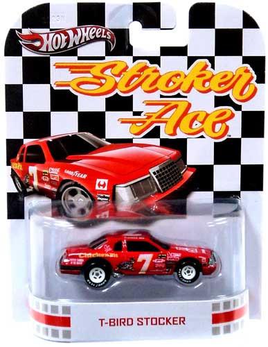 Hot Wheels Stroker Ace Hot Wheels Retro T-Bird Stocker 155 -9179