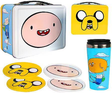 Bif Bang Pow! Adventure Time Tin Tote Gift Set