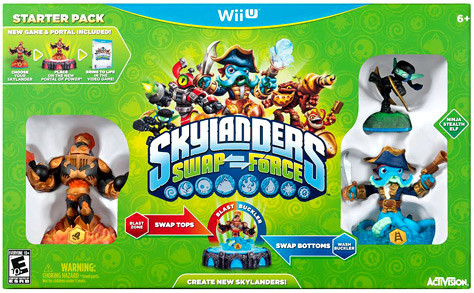Skylanders Wii U Swap Force Starter Pack
