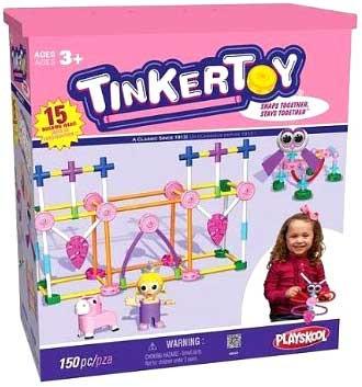 Knex Tinker Toy Pink Set #56541