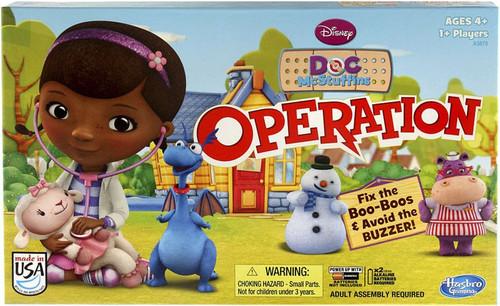 Hasbro Disney Doc McStuffins Operation Board Game