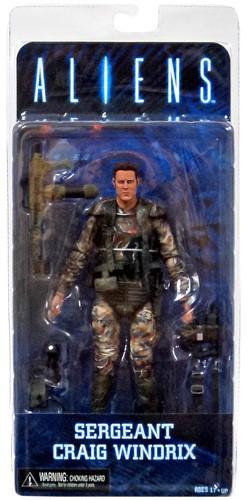 Neca Aliens Series 2 Sergeant Craig Windrix Action Figure