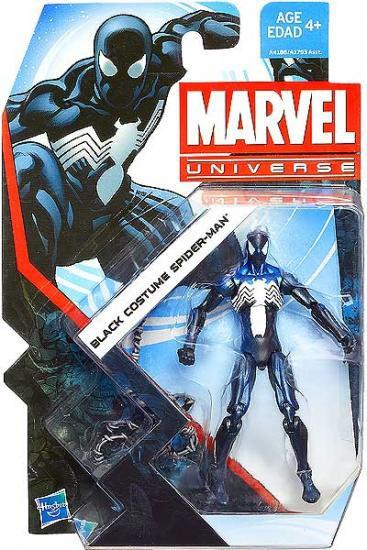 Hasbro Marvel Universe Series 22 Black Costume Spider-Man...