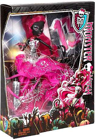 Monster High Catty Noir 10.5 Doll Friday the 13th DELUXE Mattel Toys - ToyWiz