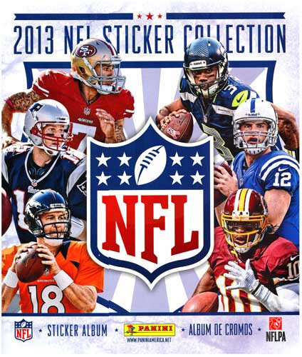 PANINI 2013 NFL Sticker Collection Sticker Album