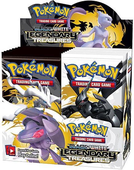 pokemon black white legendary treasures booster box 36 packs pokemon usa toywiz. Black Bedroom Furniture Sets. Home Design Ideas