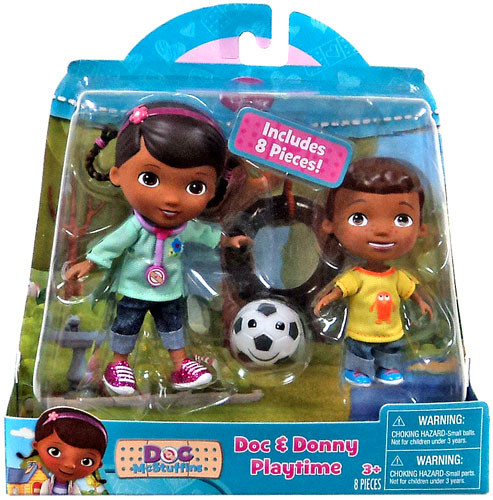 Just Play Disney Doc McStuffins Doc & Donny Action Figure...
