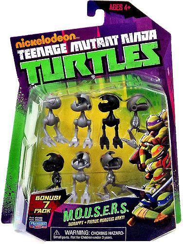 Playmates Teenage Mutant Ninja Turtles Nickelodeon MOUSER...