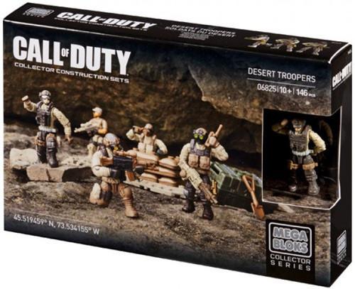 Mega Bloks Call of Duty Desert Troopers Set #06825