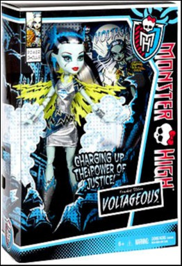 Mattel Monster High Power Ghouls Frankie Stein Exclusive ...