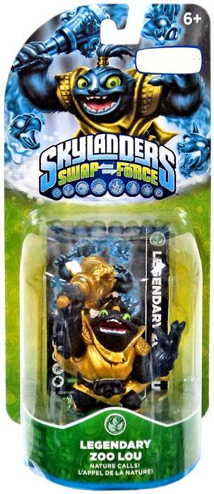 Activision Skylanders Swap Force Zoo Lou Exclusive Figure...