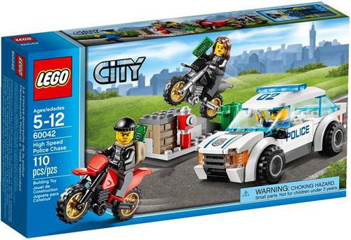 Lego City High Speed Police Chase Set #60042