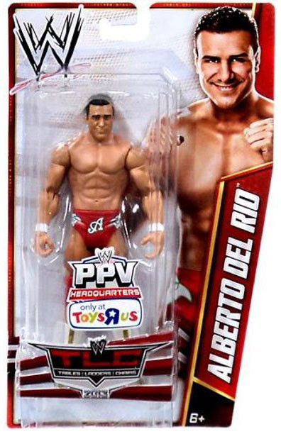 WWE Wrestling Pay Per View TLC 2013 Alberto Del Rio Exclu...