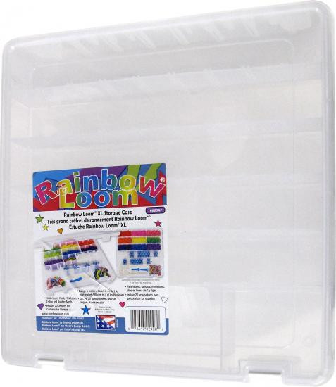 Large Deluxe Rainbow Loom Storage Case [With Stickers]