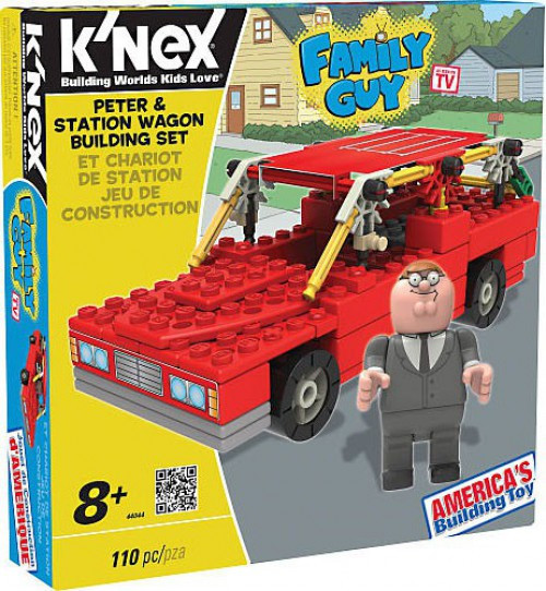 Knex Family Guy Peter & Station Wagon Set #44044