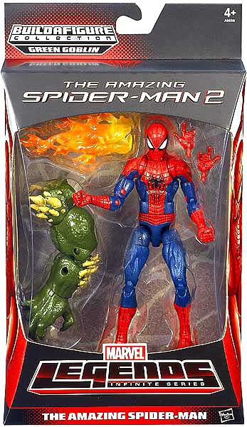 Marvel The Amazing Spider-Man 2 Marvel Legends Green ... Green Goblin Hot Toys