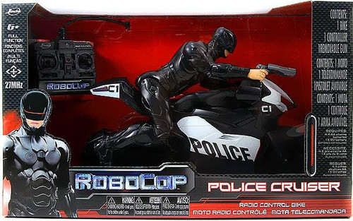 Jada Toys RoboCop Police Cruiser R/C Vehicle