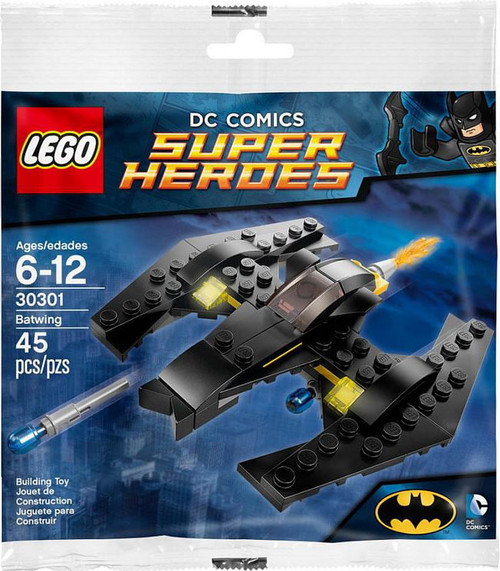 Lego DC Universe Super Heroes The Batwing Mini Set #30301...